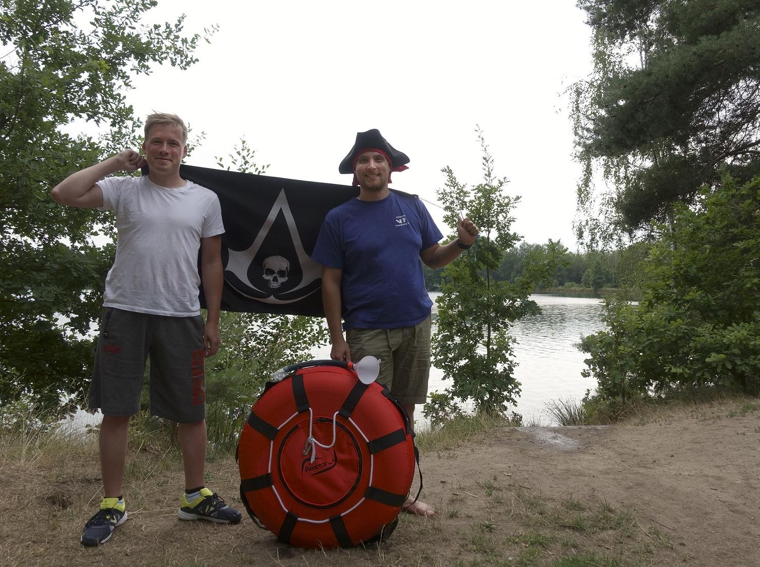 Apnoe-Tauchen am Murner See